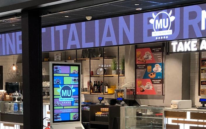 Mu Burger Malpensa